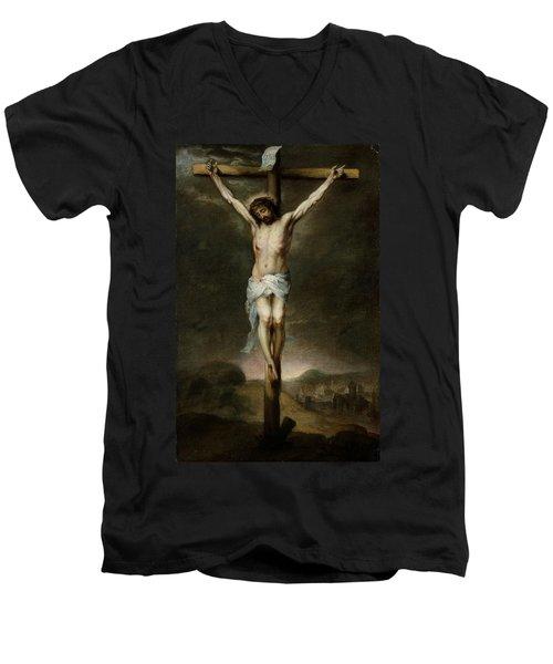 The Crucifixion Men's V-Neck T-Shirt