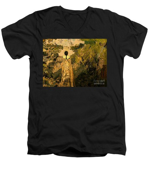 The Dream Of The Earth Men's V-Neck T-Shirt