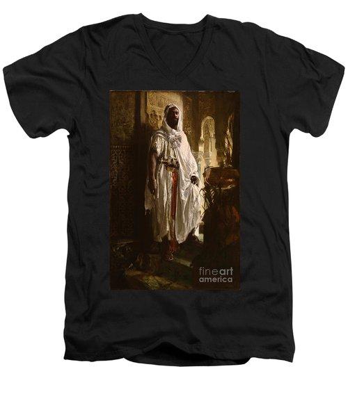 The Moorish Chief Men's V-Neck T-Shirt