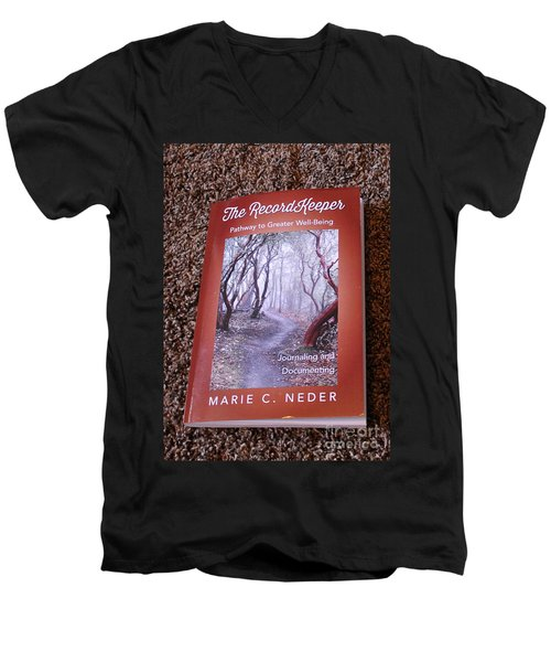 Men's V-Neck T-Shirt featuring the photograph The Recordkeeper by Marie Neder