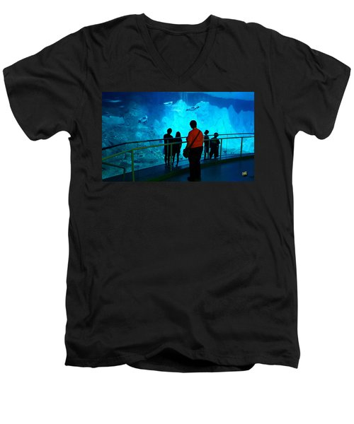 The View Down Under - 2 Men's V-Neck T-Shirt