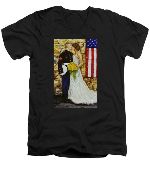 The Wedding Men's V-Neck T-Shirt