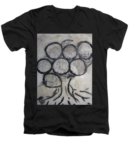 Tree Of Knowledge Men's V-Neck T-Shirt