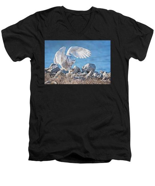 Two Point Landing Men's V-Neck T-Shirt