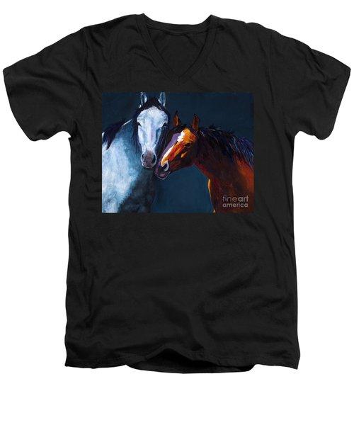 Unbridled Love Men's V-Neck T-Shirt