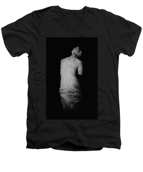Venus De Milo Men's V-Neck T-Shirt by Greek School
