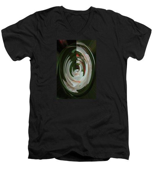 White Form Men's V-Neck T-Shirt