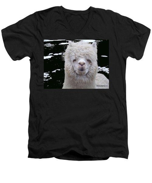 Wild Life Men's V-Neck T-Shirt by Robert Orinski