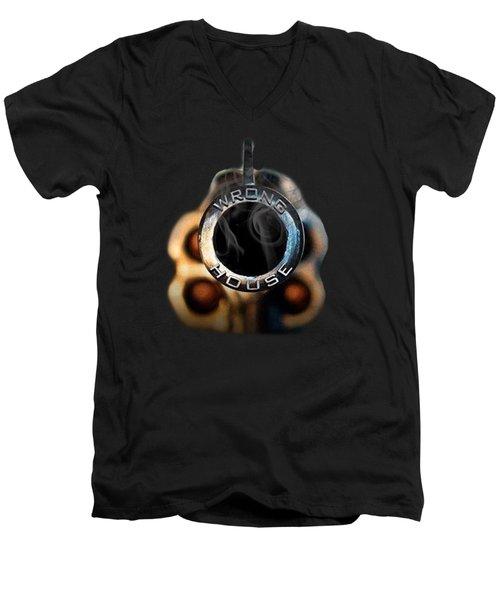 Wrong  House Men's V-Neck T-Shirt