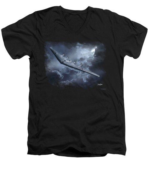Yb-35 Flying Wing Men's V-Neck T-Shirt