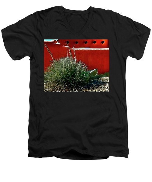 Yucca And Adobe Men's V-Neck T-Shirt