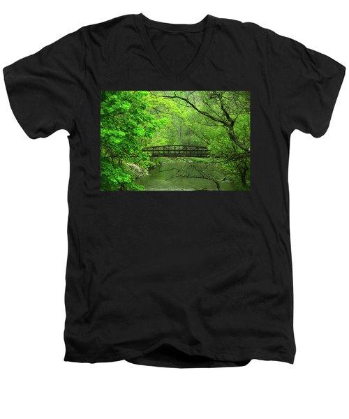 Jacobsburg State Park Pa Men's V-Neck T-Shirt