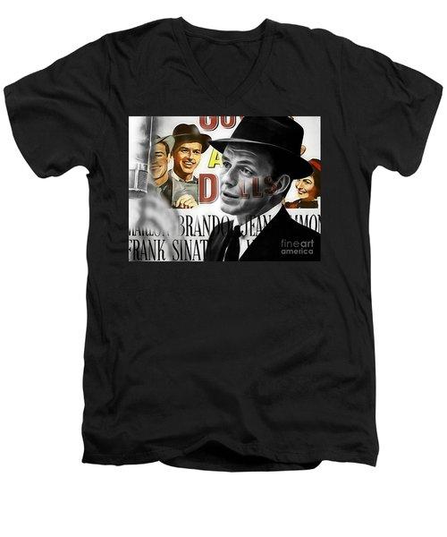 Frank Sinatra Collection Men's V-Neck T-Shirt