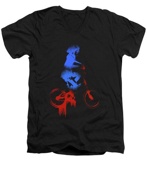 Paint Drips  Men's V-Neck T-Shirt