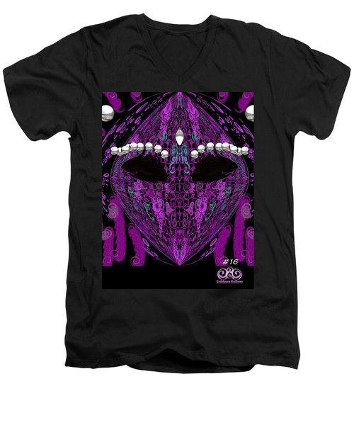 #16 Men's V-Neck T-Shirt