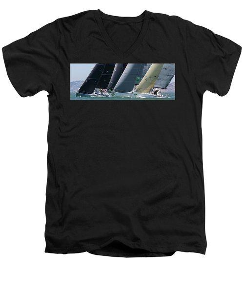 Bay Regatta Men's V-Neck T-Shirt