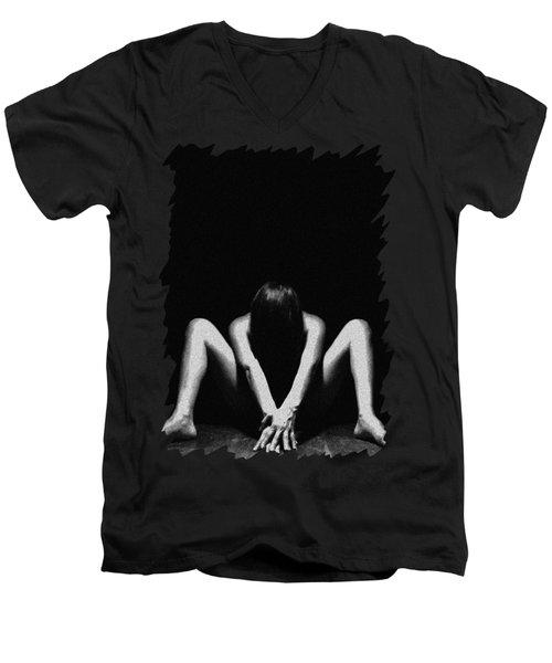 Nude Art Men's V-Neck T-Shirt