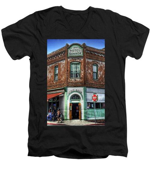 1898 Hotel Connor - Jerome Arizona Men's V-Neck T-Shirt