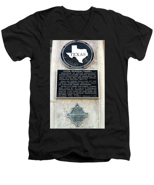 1900 Storm Galveston Men's V-Neck T-Shirt