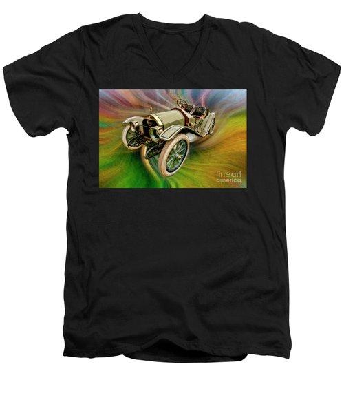 1912 Moon 30 Raceabout Men's V-Neck T-Shirt