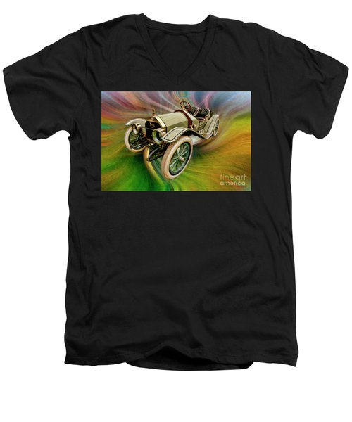 1912 Moon 30 Raceabout Men's V-Neck T-Shirt