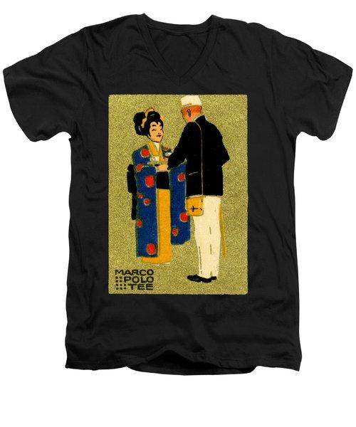 1915 Marco Polo Tea Men's V-Neck T-Shirt