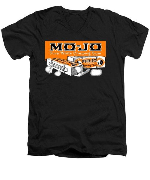 1915 Mo Jo Chewing Gum Men's V-Neck T-Shirt