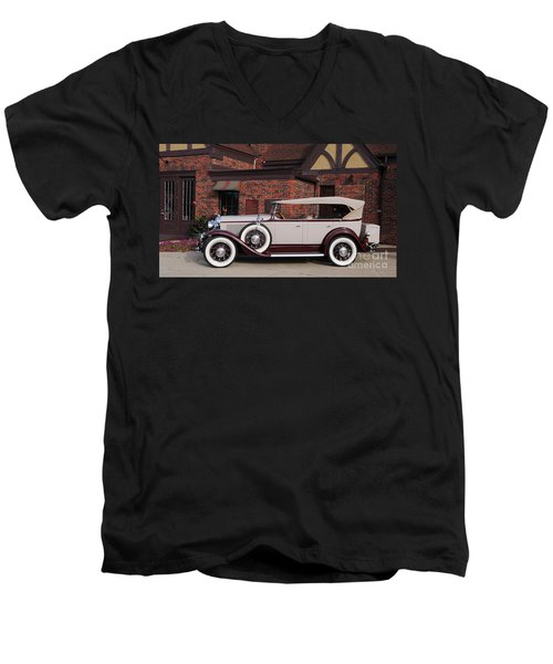 1930 Buick Phaeton Men's V-Neck T-Shirt