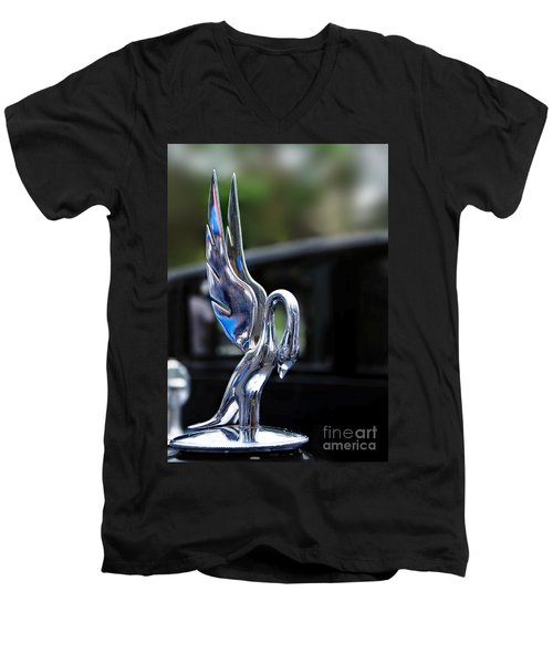 1934 Packard Eight - Hood Ornament Men's V-Neck T-Shirt