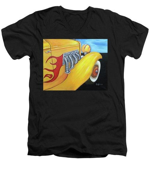 1936 Duesenberg Men's V-Neck T-Shirt