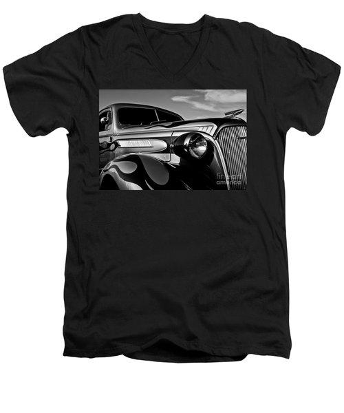 1937 Chevy Coupe Men's V-Neck T-Shirt