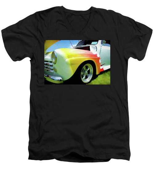 1947 Ford Coupe Men's V-Neck T-Shirt