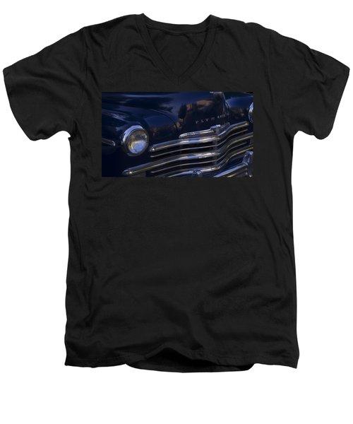 1949 Plymouth Deluxe  Men's V-Neck T-Shirt