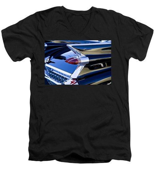 1959 Cadillac Coupe Deville  Men's V-Neck T-Shirt