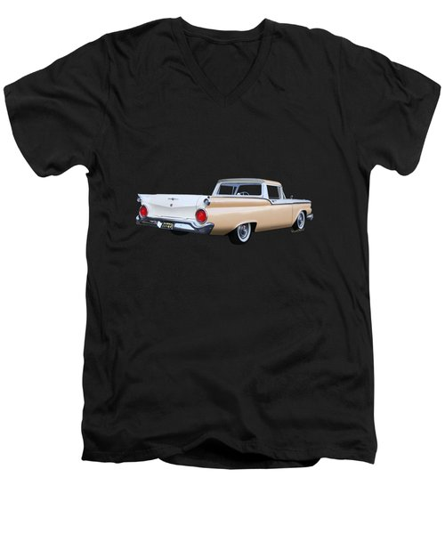 1959 Ford Ranchero 1st Generation Men's V-Neck T-Shirt