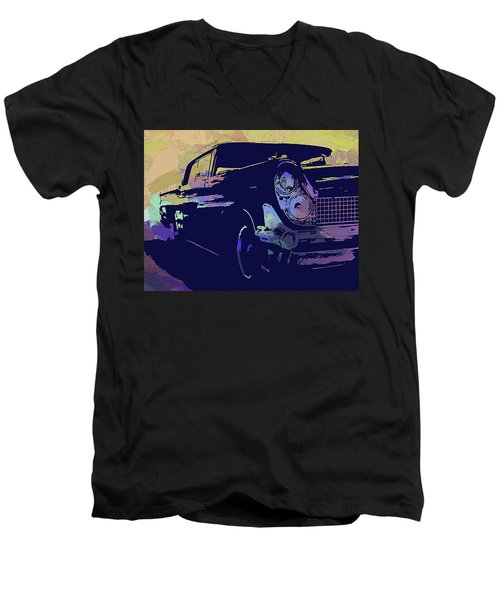 1959 Lincoln Continental Abs Men's V-Neck T-Shirt
