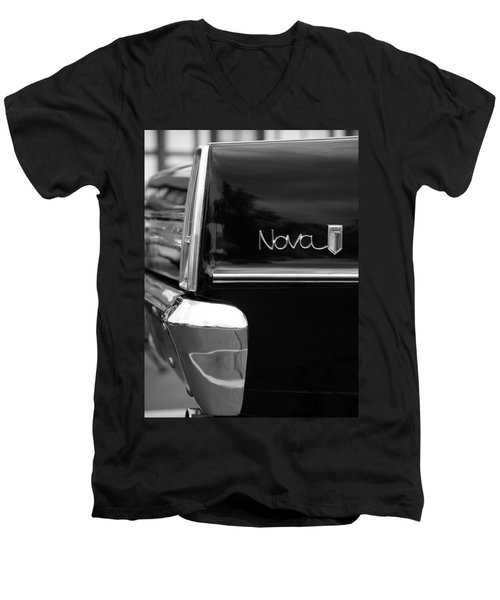 1966 Chevy Nova II Men's V-Neck T-Shirt