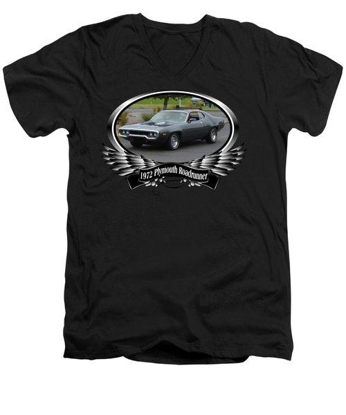 1972 Plymouth Roadrunner Grow Men's V-Neck T-Shirt