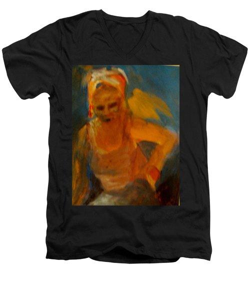 Bird On My Shoulder Men's V-Neck T-Shirt