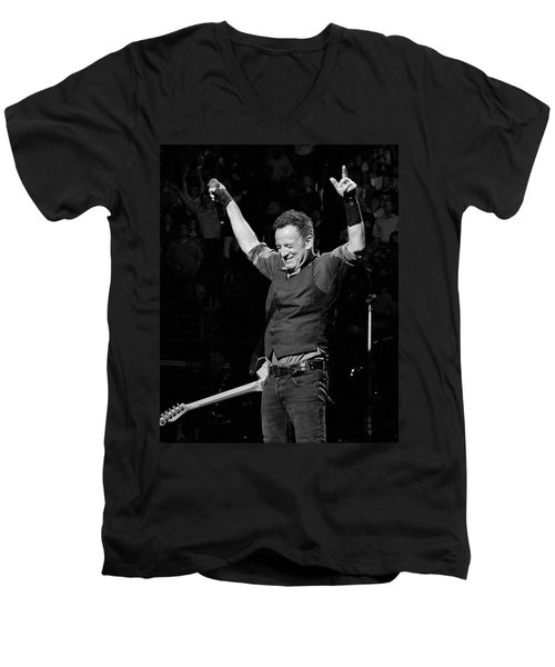 Bruce Springsteen Men's V-Neck T-Shirt