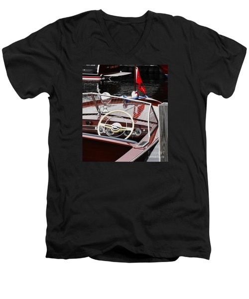 Chris Craft Utility Men's V-Neck T-Shirt