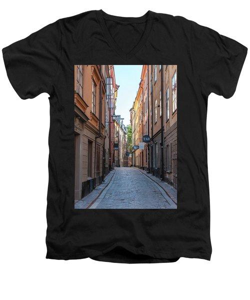 Gamla Stan Men's V-Neck T-Shirt