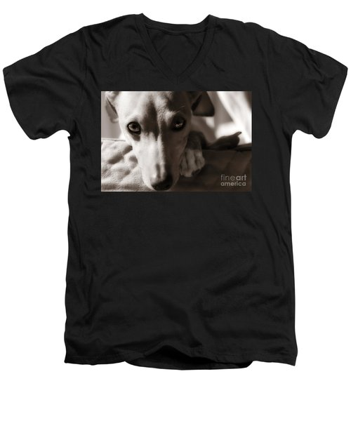 Heart You Italian Greyhound Men's V-Neck T-Shirt