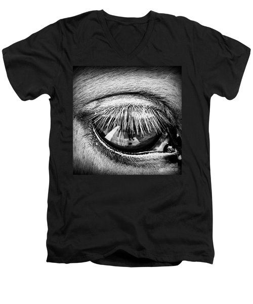 Just A Reflection  Men's V-Neck T-Shirt