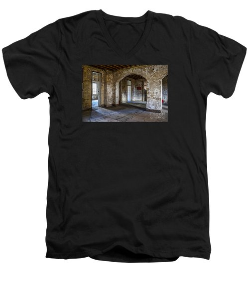 Northern Michigan Asylum Men's V-Neck T-Shirt
