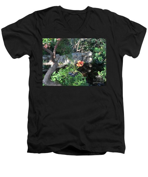 Peace And Serenity Men's V-Neck T-Shirt