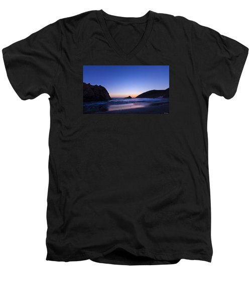 Pfeiffer Beach Men's V-Neck T-Shirt