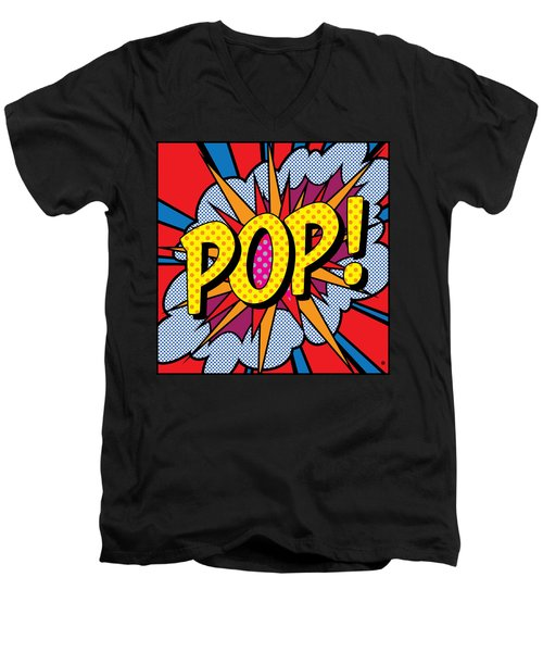 Pop Art - 4 Men's V-Neck T-Shirt