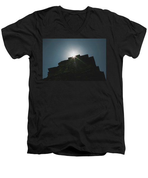poshanu Tower Men's V-Neck T-Shirt