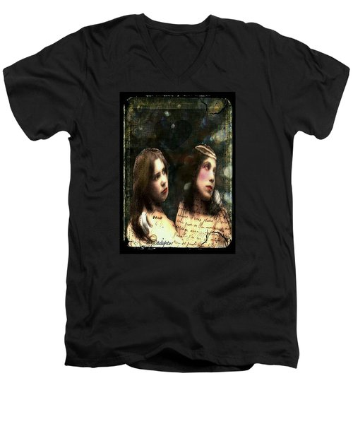 Two Sisters Men's V-Neck T-Shirt